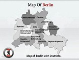 Berlin Maps Templates For Powerpoint