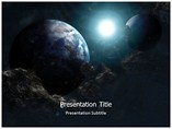Technology Powerpoint Template    - Space