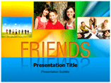 Friends Templates For Powerpoint