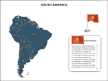 South America XML Map