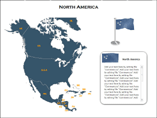 North America XML Map Templates For Powerpoint