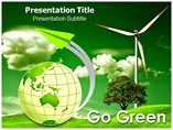 Go Green Quotes PowerPoint Template