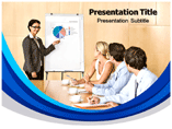 Business Review On Whiteboard Templates For Powerpoint