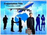 Going for Business Meeting PowerPoint Graphics