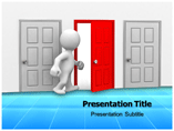 Open Door PowerPoint Background
