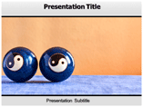 Chinese Therapy Balls Templates For Powerpoint