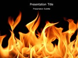 Catch Fire PowerPoint Template