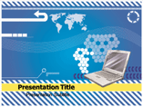 Digital Laptop Templates For Powerpoint