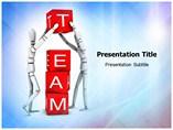 Team Work in Life PowerPoint Background