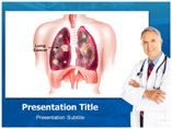 Lung Cancer Templates For Powerpoint