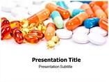 Medicine Pills PowerPoint Background