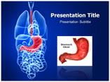 Stomach Ulcer Templates For Powerpoint