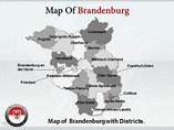 Brandenburg Map Templates For Powerpoint