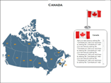 Flash Canada Maps Templates For Powerpoint