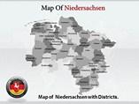 Niedersachsen Maps Templates For Powerpoint