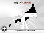 Cornwall Maps Templates For Powerpoint
