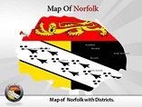 Norfolk Maps Templates For Powerpoint