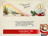 PPT Templates on Christmas Card