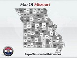 Missouri Map Templates For Powerpoint
