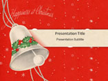 Christmas Bell - Powerpoint Templates