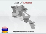 Armenia Map Templates For Powerpoint