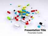 Animated Pills Templates For Powerpoint