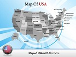 USA Map Templates For Powerpoint