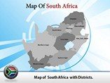 South Africa Map Templates For Powerpoint