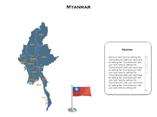 Myanmar XML Map Powerpoint Templates