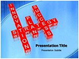 Strategy Success powerpoint template