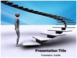 Stairs To Success Templates For Powerpoint