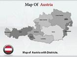 Austria Maps Templates For Powerpoint