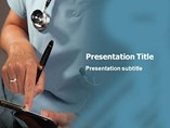 Doctor Writing Templates For Powerpoint