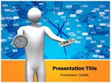 Money Over Time powerpoint template