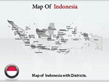 Indonesia Map Templates For Powerpoint