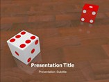 Dice powerpoint template