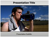 Dehydration Treatment Templates For Powerpoint