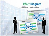 Effect Diagram PowerPoint Background
