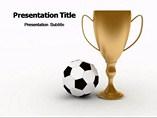 Football Winner powerpoint template