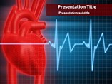 Heart Beat Line PowerPoint Theme
