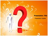 Question Mark Powerpoint Templates