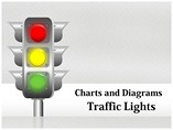 Traffic Signs Images Chart Powerpoint Template