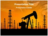 Oil Mines Templates For Powerpoint