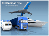 Transportation Services  PowerPoint Template