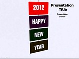 Happy New Year 2012 PowerPoint Templates