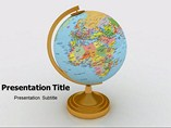 Globe Castro Templates For Powerpoint