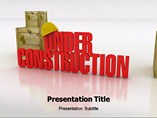 Under Construction Chart Templates For Powerpoint