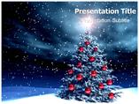 Christmas Tree Powerpoint Templates
