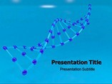 Body DNA Templates For Powerpoint