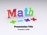 Maths powerpoint template